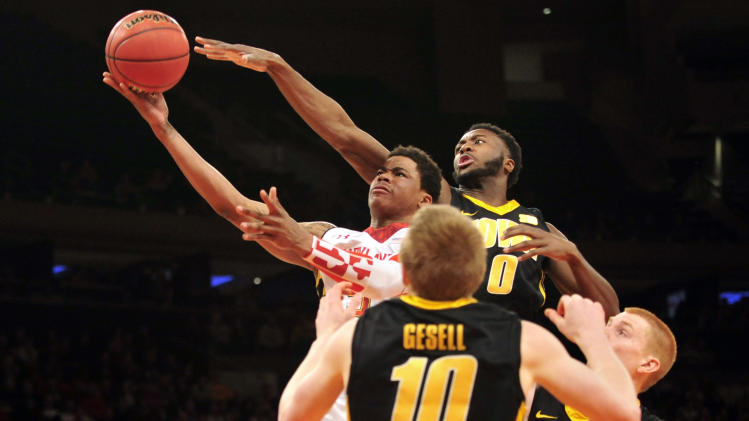NCAA Basketball: NIT Tournament-Maryland vs Iowa