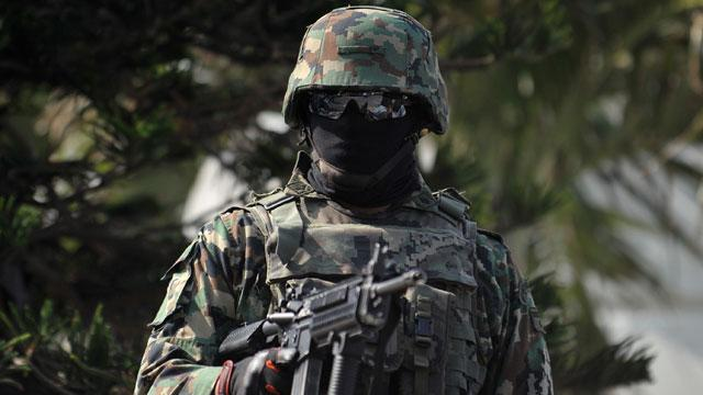 Mexican Drug Cartels Make Fake Military Uniforms