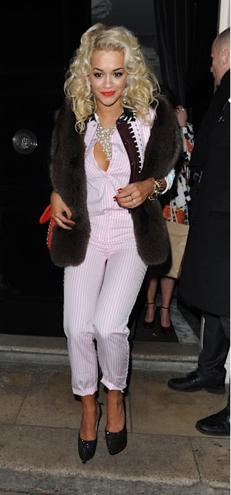 Rita Ora looked amazing at the Sony Belvedere after-party.
