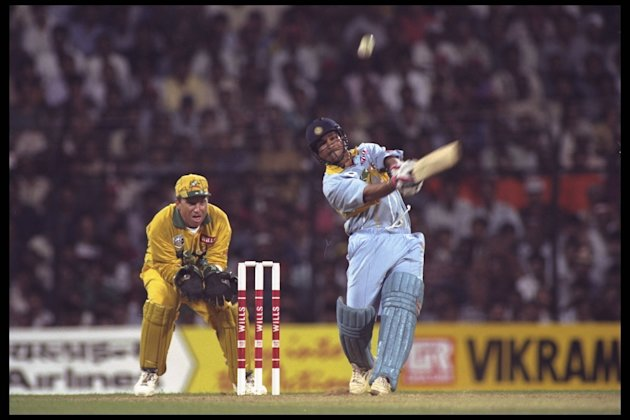 SACHIN TENDULKAR IN HIS WAY TO 9