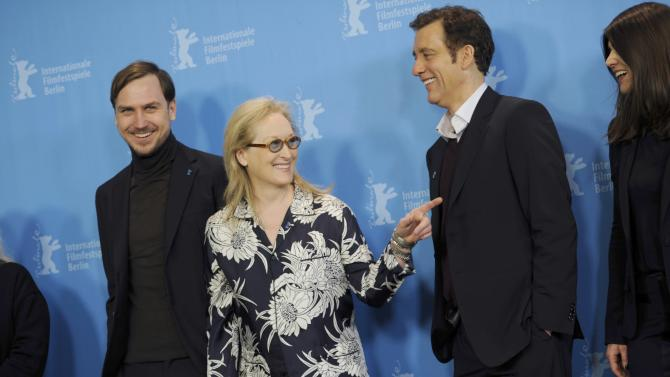 International jury for 66th Berlinale International Film Festival pose for photos in Berlin