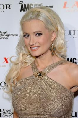 """Holly Madison from the television show """"Holly's World"""" arrives at the LAX Nightclub at the Luxor Resort & Casino on February 23, 2011 in Las Vegas -- Getty Images"""