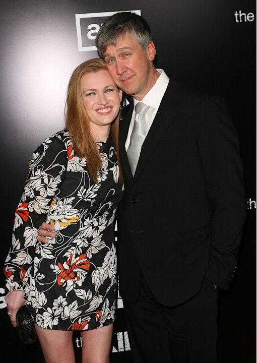 Mireille Enos and Alan Ru …