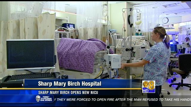 Sharp Mary Birch opens new NICU
