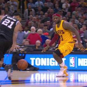 LeBron's Costly Turnover