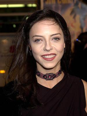 Juliet Landau at the Hollywood premiere of Warner Brothers' The Majestic