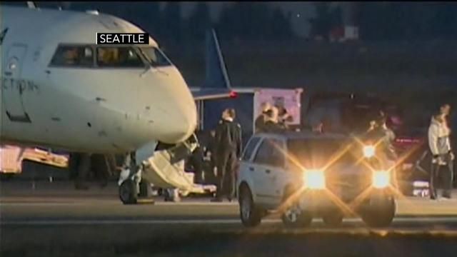 2 planes evacuated in Seattle, 3rd flight diverted to Dallas