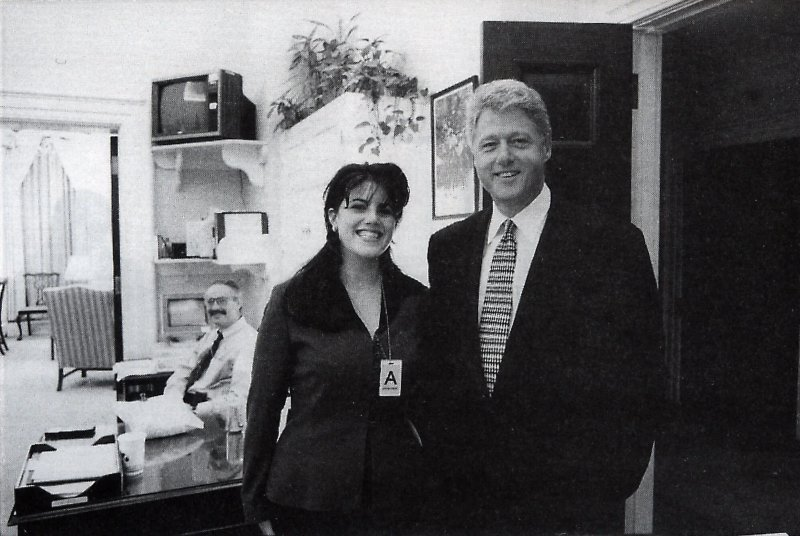 bill clinton and monica lewinsky at the white house