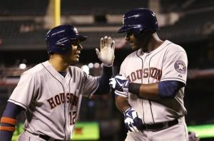 Carter caps big series as Astros beat Mariners 8-3