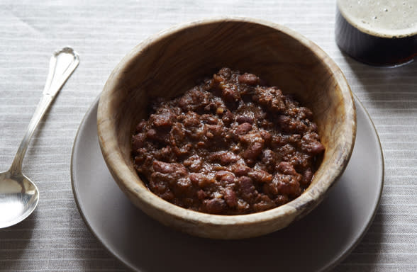 Indian Spiced Lamb Chili