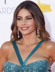Sofia Vergara is seen at the Emmy Awards in Los Angeles on September 23, 2012 -- Getty Premium