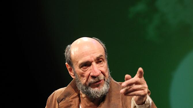"""In this theater image released by The Publicity Office, F. Murray Abraham is shown during a performance of Classic Stage Company's off-Broadway production of Bertolt Brecht's """"Galileo""""  in New York. (AP Photo/The Publicity Office, Joan Marcus)"""