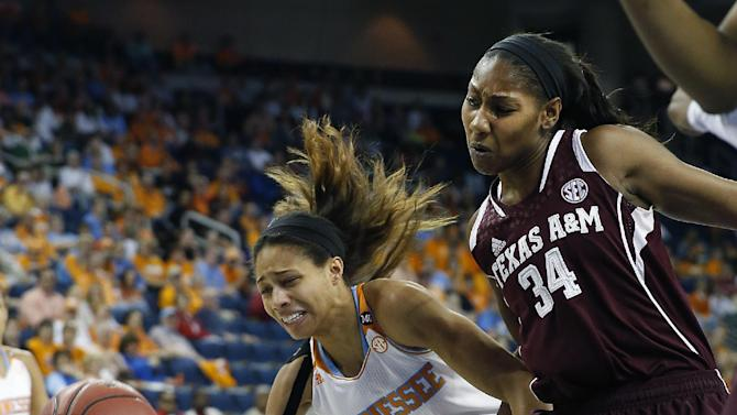 Lady Vols hold off Texas A&M, 86-77, in SEC semis