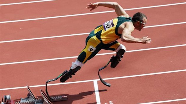 Oscar Pistorius Olympia 2012 London