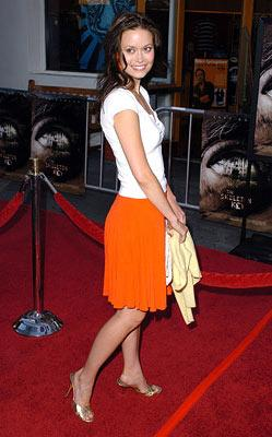 Summer Glau at the Universal City premiere of Universal Pictures' The Skeleton Key