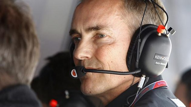 McLaren boss Martin Whitmarsh
