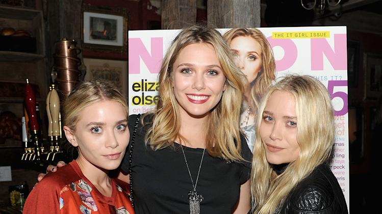 Elizabeth and the Olsen twins
