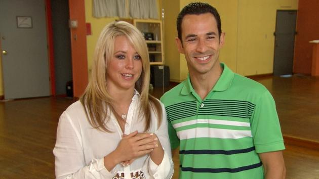 Helio Castroneves & Chelsie Hightower Weigh In On Their Dancing Competition -- Access Hollywood