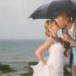 Only You Can Let Bad Weather Ruin Your Wedding Day