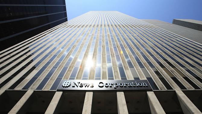 News Summary: News Corp. splitting into News, Fox