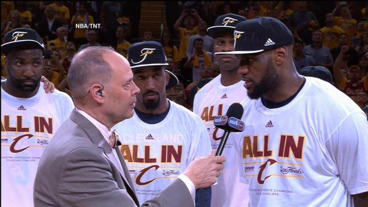 LeBron James Leads Cleveland Cavaliers Into NBA Finals