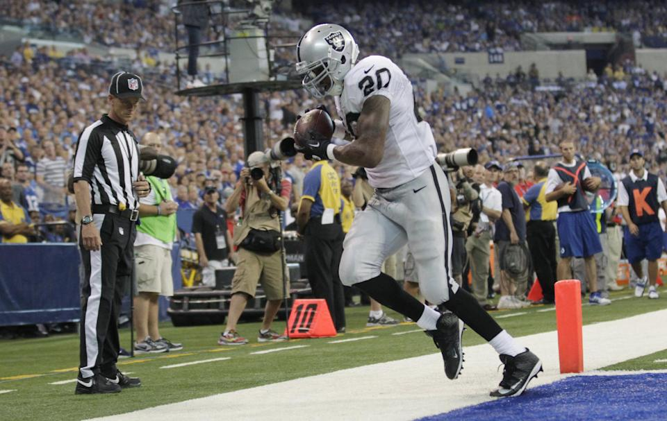 McFadden learning patience in Raiders offense