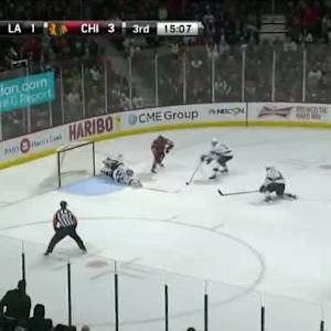 Jonathan Quick Save on Patrick Sharp (04:55/3rd)