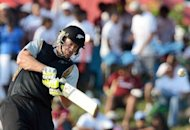 "New Zealand all-rounder Jacob Oram during a T20 match against the West Indies in June. ""We are here to win but whatever happens we have to make sure we learn from the series because it's great preparation,"" Oram said"