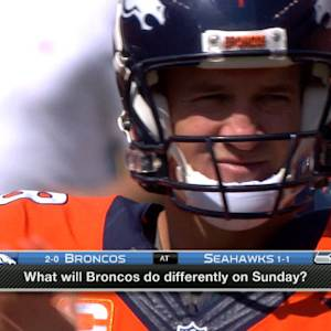 What will the Denver Broncos do differently against the Seattle Seahawks?