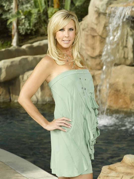 Vicki Gunvalson of The Real Housewives of Orange County.