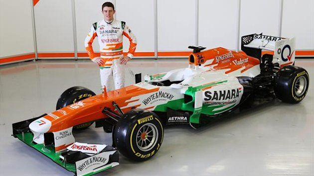 2013 Silverstone Launch Force India VJM06