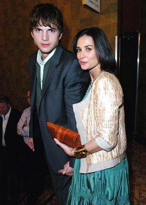 Premiere: Ashton Kutcher and Demi Moore at the Westwood premiere of Dimension Films' Sin City - 3/28/2005