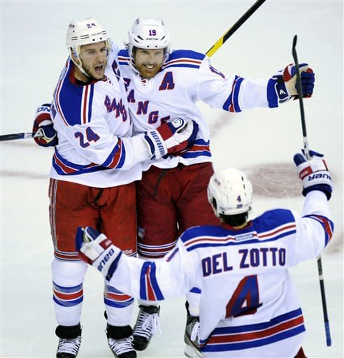 Rangers edge Capitals in 2-1 in 3 OTs