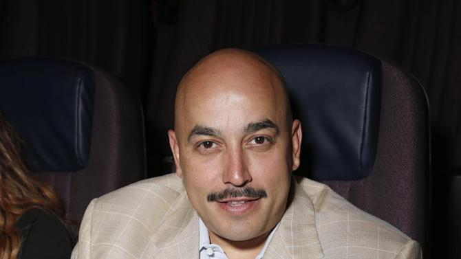 "Lupillo Rivera attends Pantelion's ""Filly Brown"" Los Angeles Premiere Hosted by the Rivera Family at the Regal LA Live Stadium on April 17, 2013 in Los Angeles. (Photo by Todd Williamson/Invision for Pantelion Films/AP Images)"