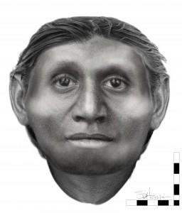 Reconstructed Face of Extinct  Hobbit  Species Is Startlingly Humanlike