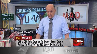 Cramer: Get ready, oil is set for a U-shaped recovery