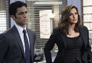 Danny Pino, Mariska Hargitay | Photo Credits: Will Hart/NBC