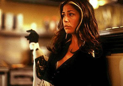 Maura Tierney is Pat Mcbeth, the ambitious wife of Mac, who convinces her husband to do anything in his power to succeed in Lot 47's Scotland, PA