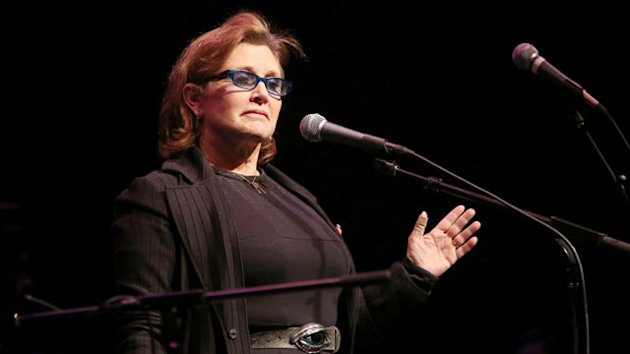 Carrie Fisher Hospitalized After Bipolar Incident (ABC News)