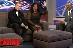 'Glee's' Amber Riley Reacts to News of Show's End, Reflects on Cory Monteith (Video)