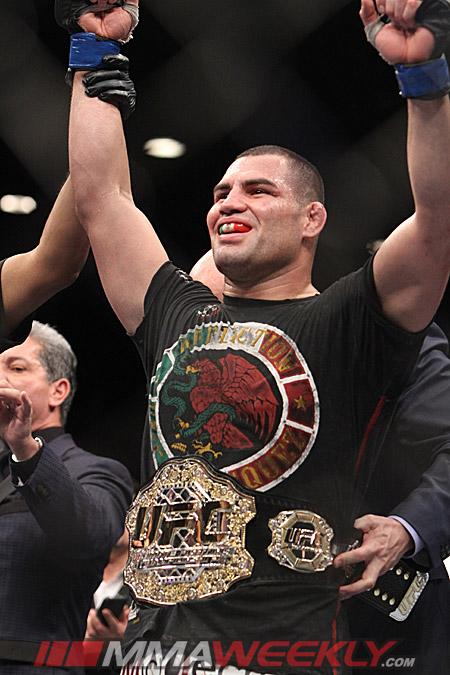 "Cain Velasquez's First Defense is Rematch with Antonio ""Bigfoot"" Silva at UFC 160"