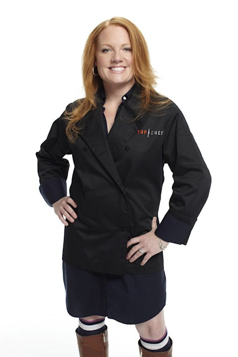 "Tiffani competes in the 8th season of ""Top Chef."""