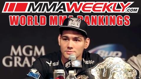 MMA Top 10 Rankings: No More Wondering What If, Chris Weidman is No. 1