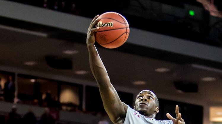 NCAA Basketball: Mississippi at South Carolina