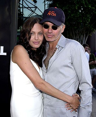 Angelina Jolie and Billy Bob Thornton at the L.A. premiere of MGM's Original Sin