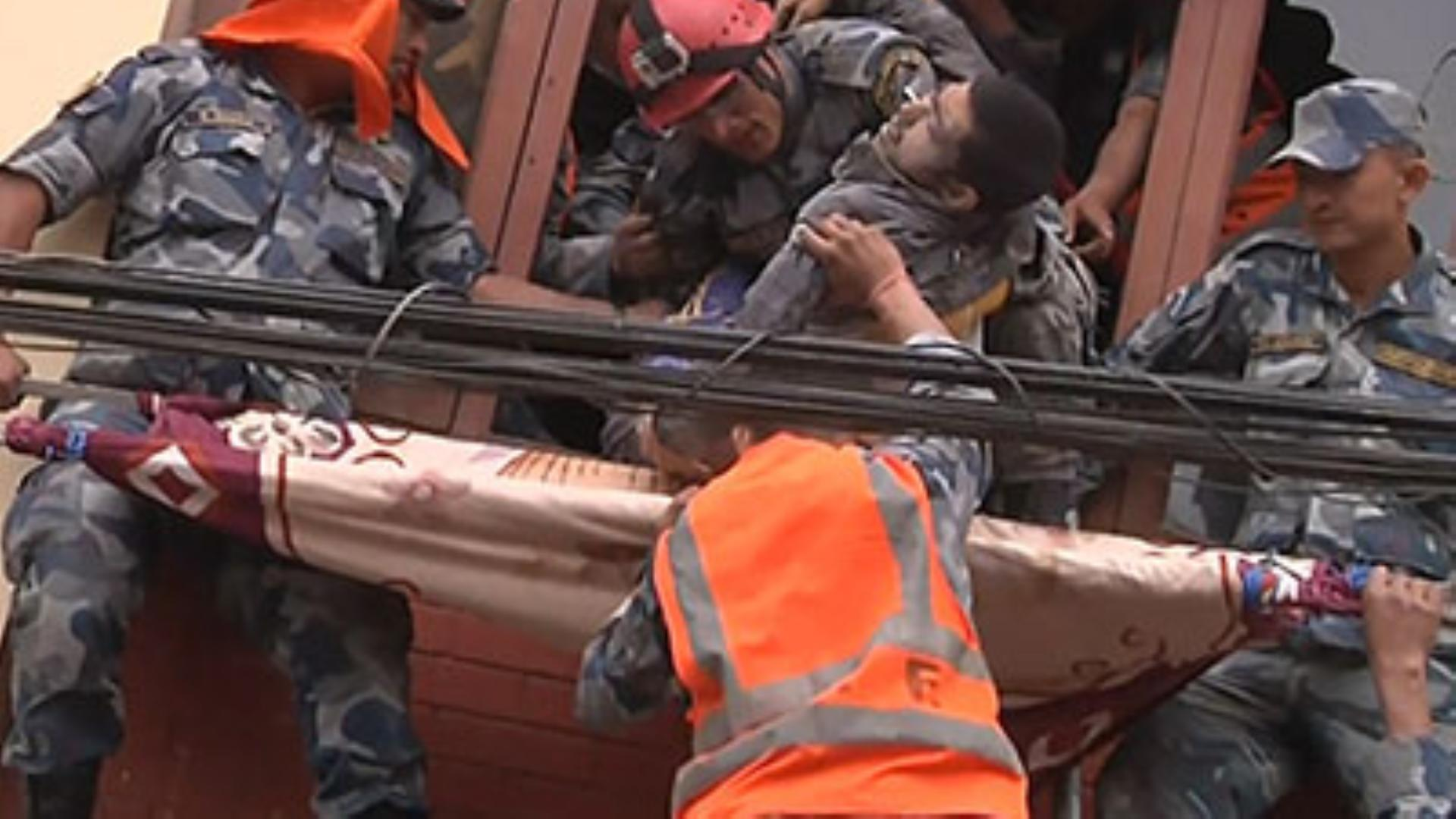 More than 2,200 confirmed dead in Nepal earthquake