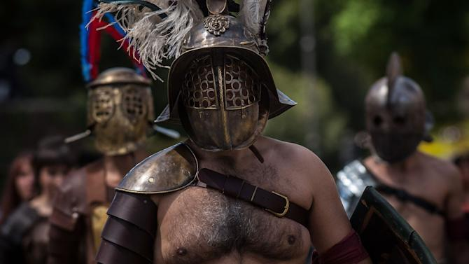 Romans Celebrate the 2,766th Anniversary of Their City