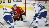 Daniel Sedin has goal, 2 assists as Canucks beat Flames 5-1