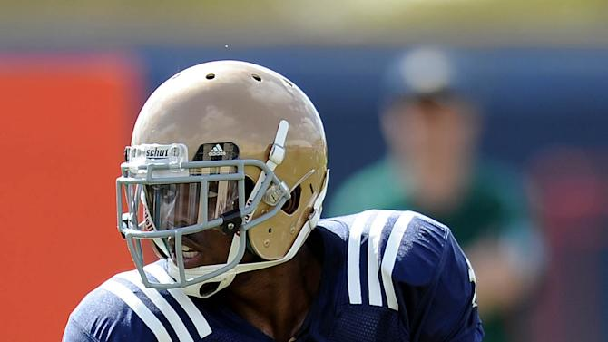NCAA Football: BCS Championship-Notre Dame Practice