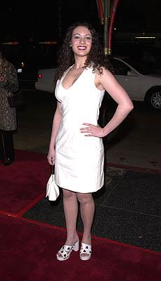"""Days Of Our Lives"" star Farah Fath at the Hollywood premiere of Warner Brothers' Valentine"